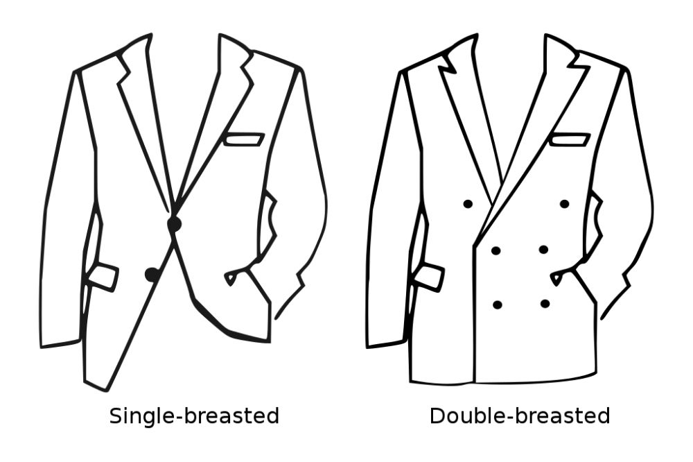 giacca doppio petto