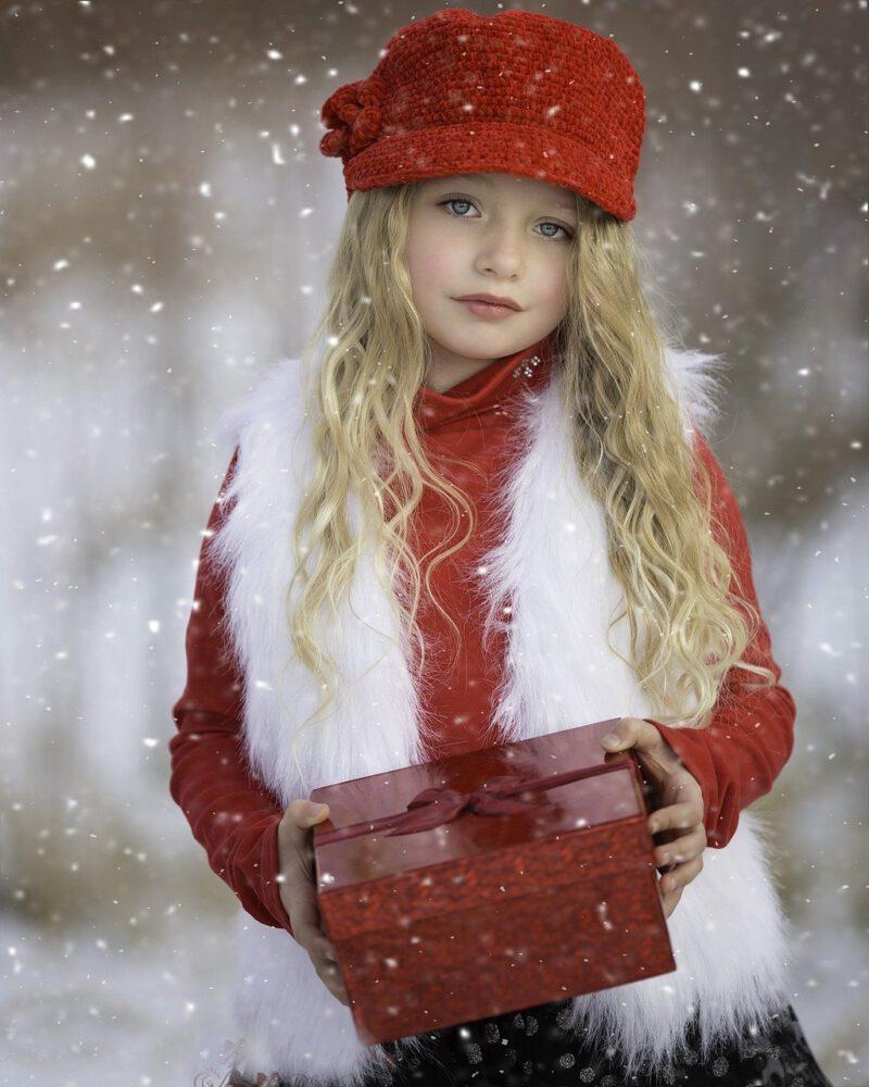 outfit natalizio bimba