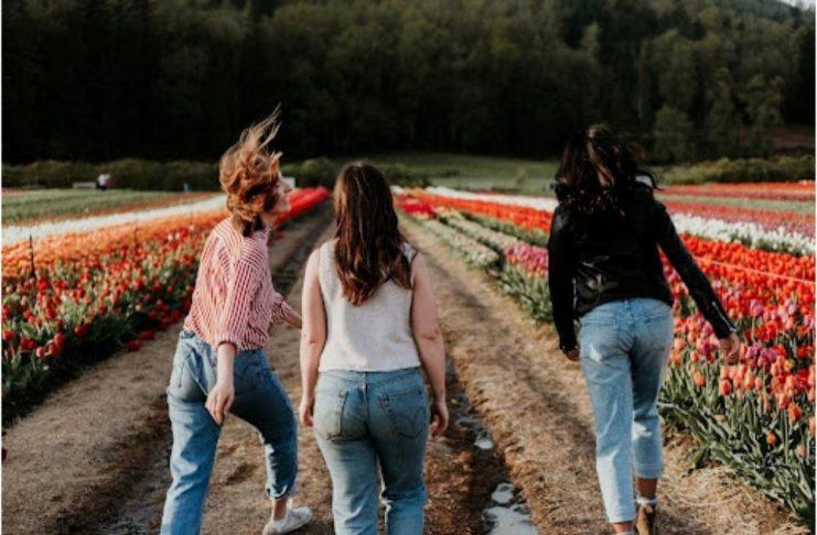 jeans perfetto donna foto